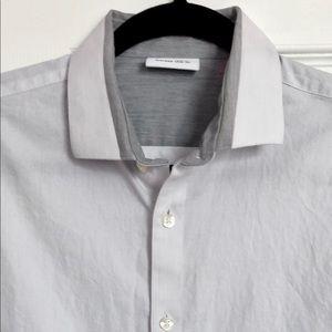 Light Gray Dress Shirt by Calvin Klein